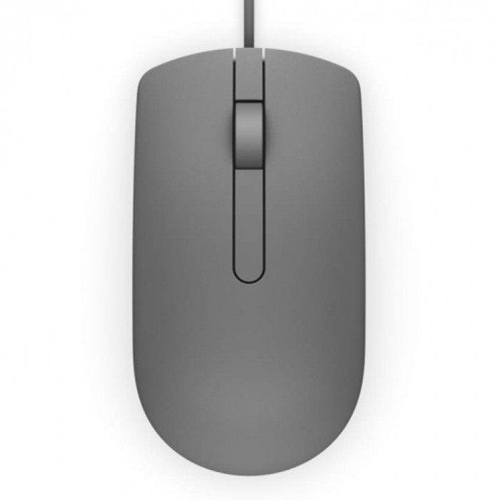 Mouse Dell MS116 , Optic , 1000 DPI , Gri foto mare