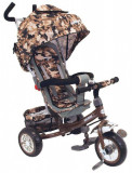 Tricicleta multifunctionala Sunny Steps Vip Camouflage, Multicolor, Baby Mix