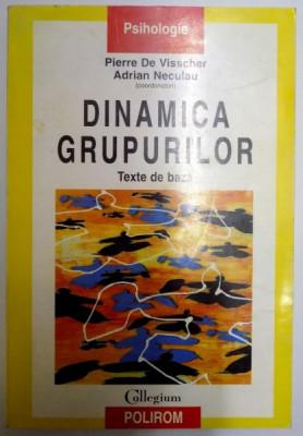 DINAMICA GRUPURILOR , TEXTE DE BAZA de PIERRE DE VISSCHER , ADRIAN NECULAU , 2001 foto