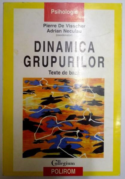 DINAMICA GRUPURILOR , TEXTE DE BAZA de PIERRE DE VISSCHER , ADRIAN NECULAU , 2001