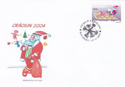 ROMANIA 2004 LP 1666  CRACIUN   FDC foto