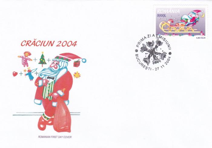ROMANIA 2004 LP 1666  CRACIUN   FDC