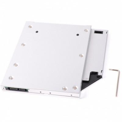 Adaptor laptop pentru instalarea un HDD sau SSD de 2.5 inch Orico Caddy Tray foto