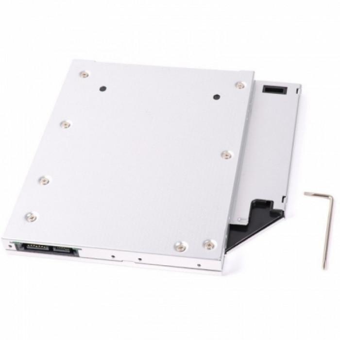 Adaptor laptop pentru instalarea un HDD sau SSD de 2.5 inch Orico Caddy Tray foto mare