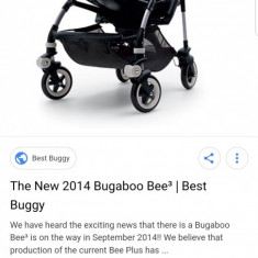 Carucior bugaboo bee 3