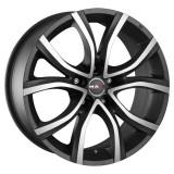 Jante AUDI S8 8J x 18 Inch 5X112 et30 - Mak Nitro5 Ice Titan, 8, 5