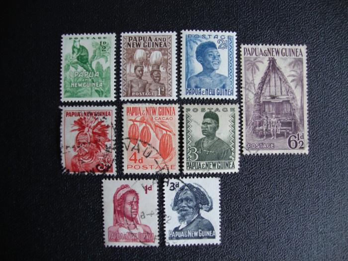 LOT MIXT PAPUA NOUA GUINEE