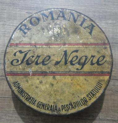 Cutie Icre Negre Romania din perioada interbelica foto