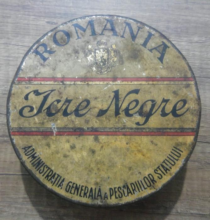 Cutie Icre Negre Romania din perioada interbelica