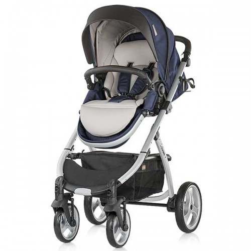 Carucior Up & Down 3 in 1 2018 Blue Indigo foto mare