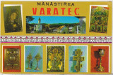 Bnk cp Manastirea Varatec - Vedere - necirculata, Printata