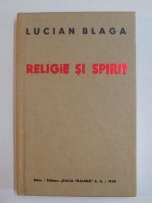RELIGIE SI SPIRIT de LUCIAN BLAGA , 2006 foto