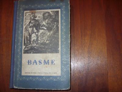 BASME   ( editia 1956, rara, ilustrata, coperti cartonate ) * foto