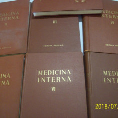 Medicina interna  anii 1956-1959 -n. gh. lupu- 7 volume