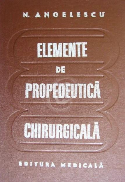 Elemente de propedeutica chirurgicala foto mare