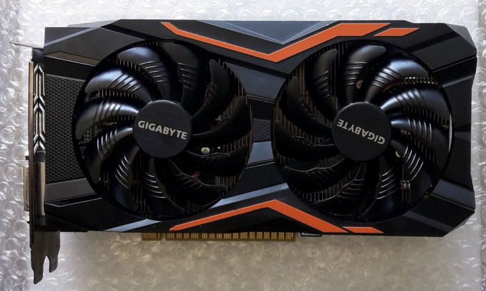 GIGABYTE GeForce GTX 1050 Ti G1 Gaming 4GB GDDR5 foto mare