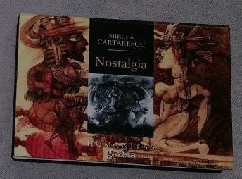 M. Cartarescu NOSTALGIA  ed. bibliofila de buzunar hartie velina cartonata foto