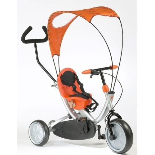 Tricicleta OKO orange foto mare