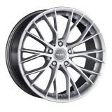Jante BMW Seria 5 8J x 18 Inch 5X120 et30 - Mak Munchen Silver, 8
