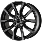 Jante TOYOTA MR2 7J x 17 Inch 5X114,3 et40 - Mak Highlands Mat Black, 7, 5