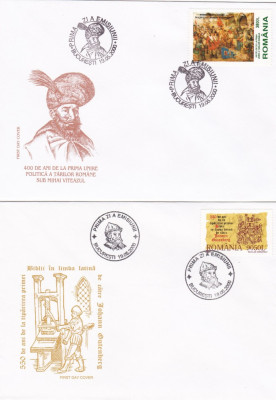 ROMANIA 2000   LP 1514   EVENIMENTE  2000  FDC foto