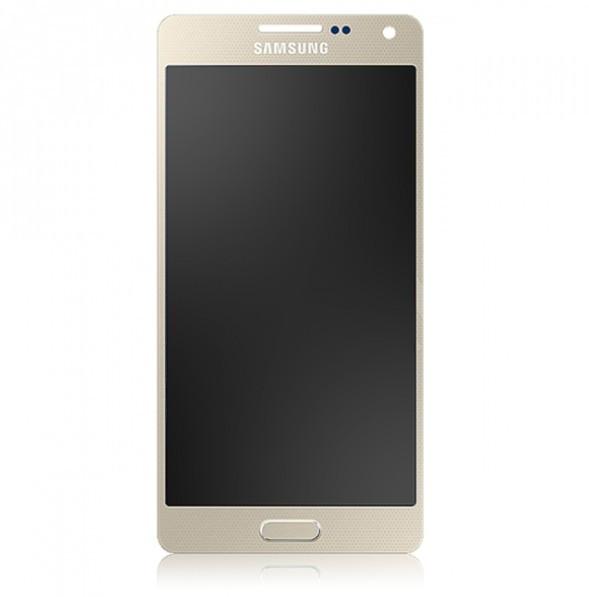 Display Cu Touchscreen Samsung Galaxy A5 A500F Original Gold foto mare