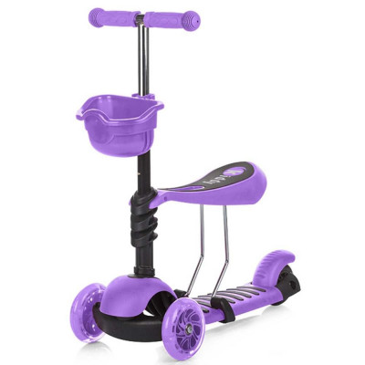 Trotineta Chipolino Kiddy Purple foto
