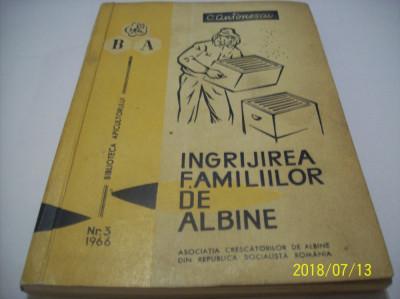 ingrijirea familiilor de albine- antonescu an 1966 foto