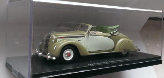 Macheta Opel Admiral Hebmuller 1938 - 1/43 NEO foto mare