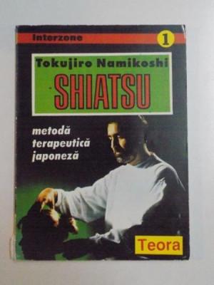 SHIATSU , METODA TERAPEUTICA JAPONEZA de TOKUJIRO NAMIKOSHI , 1995 foto