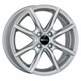 Jante RENAULT CLIO 7J x 17 Inch 4X100 et35 - Mak Milano 4 Silver, 7