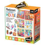 Set educativ Montessori - Casuta mea