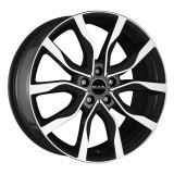Jante RENAULT MEGANE IV 7J x 17 Inch 5X114,3 et40 - Mak Highlands Black Mirror, 7, 5