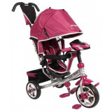 Tricicleta multifunctionala cu sunete si lumini Lux Trike Pink, Roz, Baby Mix