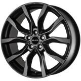 Jante RENAULT MEGANE III 7J x 17 Inch 5X114,3 et40 - Mak Highlands Mat Black, 7, 5