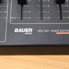 Bauer Bosch VED 300 Video Editor Refno.7696411048 220V 50Hz 15Wh Video /Audio