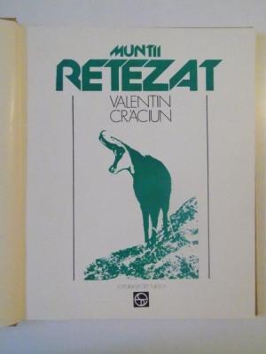 MUNTII RETEZAT de VALENTIN CRACIUN, 1981 foto