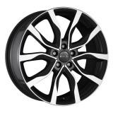 Jante SEAT IBIZA 6.5J x 16 Inch 5X100 et40 - Mak Koln W Black Mirror, 6,5