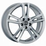 Jante RENAULT CLIO 6J x 15 Inch 4X100 et35 - Mak Icona Silver, 6, 4