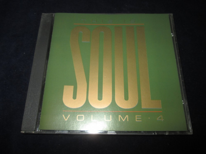 various - This IS Soul , vol.4 _ CD,compilatie _ Object Enterprises(UK,1987) foto mare