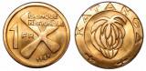 KATANGA █ MONEDE █ 1 Franc █ 1961 █ KM-1 █ UNC, Africa