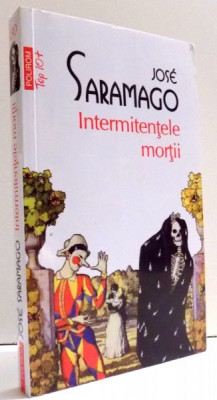 INTERMITENTELE MORTII de JOSE SARAMAGO , 2013 foto
