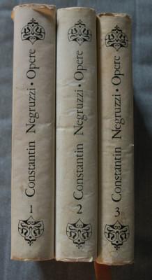 Constantin Negruzzi - Opere (3 vol. - edi?ie critica completa de Liviu Leonte) foto