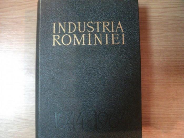 INDUSTRIA ROMANIEI 1944 - 1964 , Bucuresti 1964 foto mare