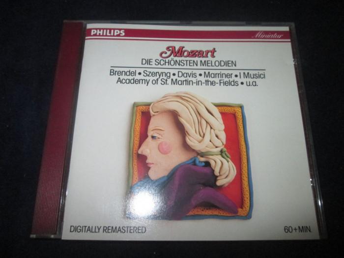 Mozart . Brendel - The Best Of Mozart _ CD _ Philips (Germania) foto mare