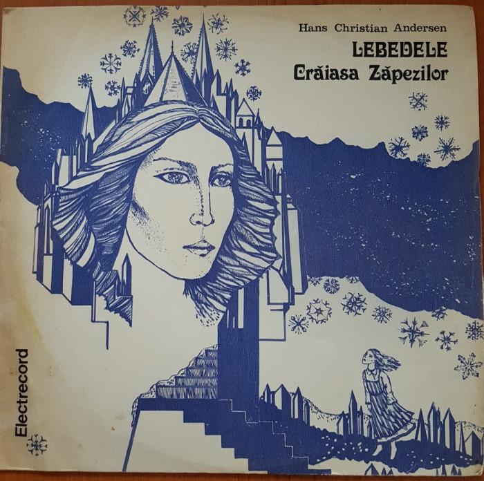 LEBEDELE. CRAIASA ZAPEZILOR - Hans Christian Andersen - DISC VINIL