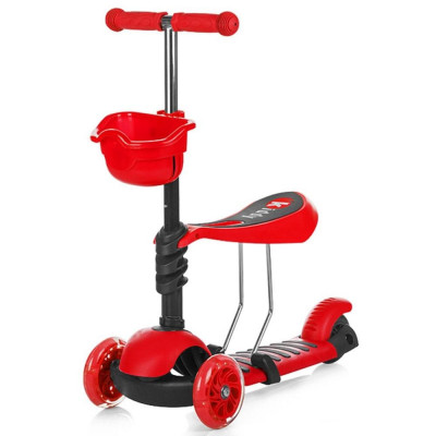 Trotineta Chipolino Kiddy Red foto