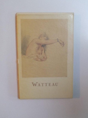 LES DESSINS de WATTEAU PAR JACQUELINE BOUCHOT - SAUPIQUE , 1953 foto