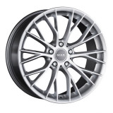 Jante BMW X1 8J x 18 Inch 5X120 et30 - Mak Munchen Silver, 8, 5