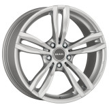 Jante BMW Seria 5 8J x 18 Inch 5X120 et30 - Mak Luft Silver, 8